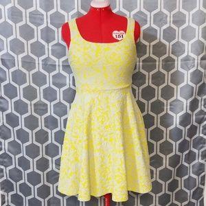 Yellow day dress